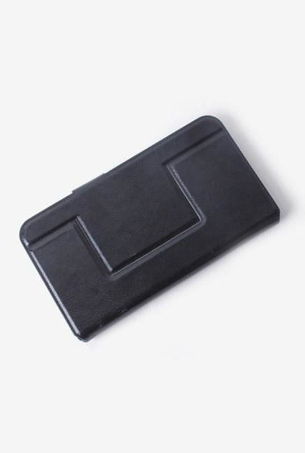 Callmate Window Sticker Flip Cover for BlackBerry Q5 Black