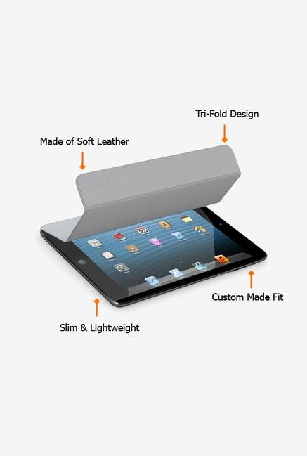 Callmate Magnetic Smart Flip Cover for Ipad 2/3 Grey