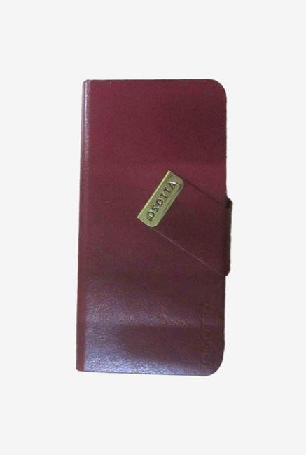 Callmate Osatta Flip Cover for iPhone 5 Brown