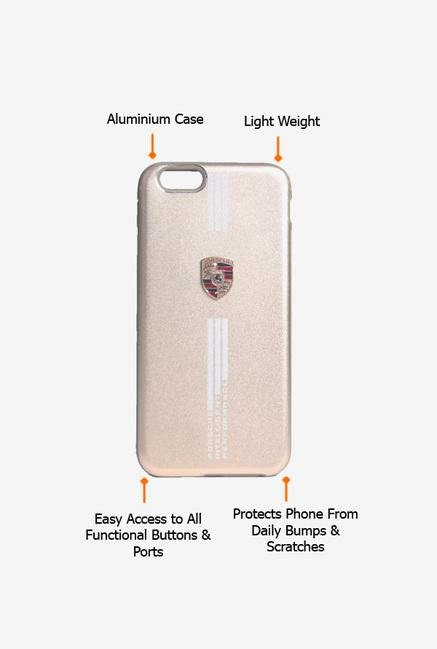 Callmate Porsche Back Case for iPhone 6/6S Gold