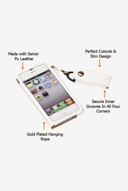 Callmate Back Case for iPhone 4/S White