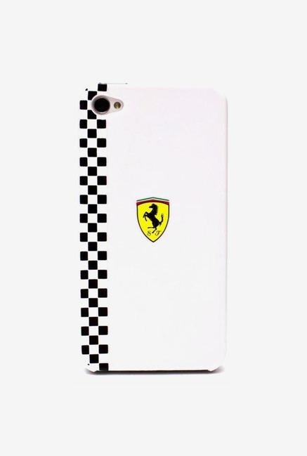 Ferrari FEFOP4W iPhone 4 Case White