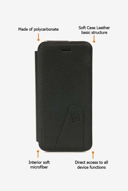 Tucano Libretto IPH5LI iPhone 5 Flip Case Black