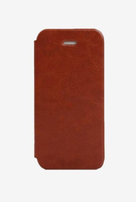 Callmate Flip Cover for iPhone 4/S Brown