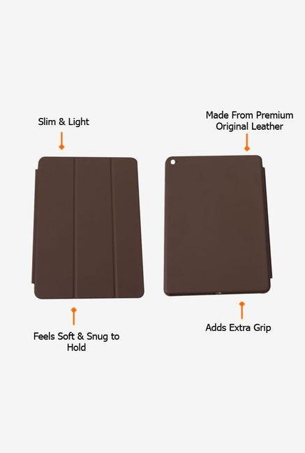 Callmate Leather Touch Flip Cover for iPad Air2 Coffee