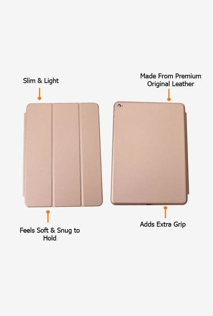 Callmate Leather Touch Flip Cover for iPad Mini 4 Gold