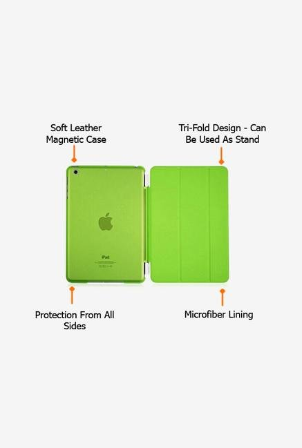 Callmate Magnetic Smart Flip Cover for Ipad Mini Green