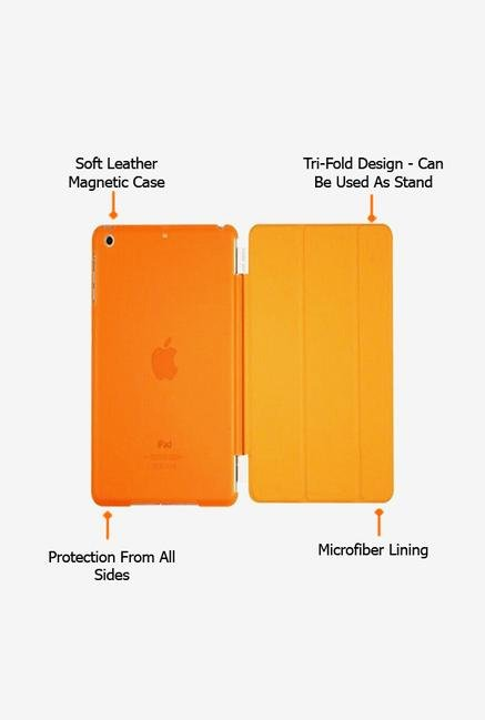 Callmate Magnetic Smart Flip Cover for Ipad Mini Orange
