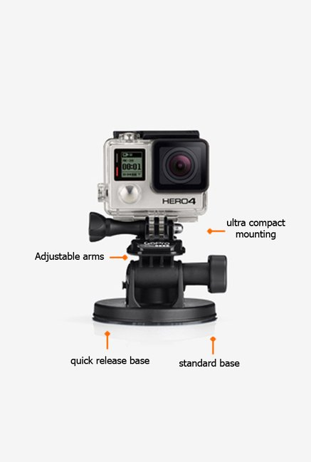 GoPro AUCMT302 Suction cup Black