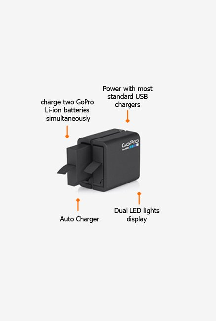 GoPro AHBBP401 Battery Charger Black