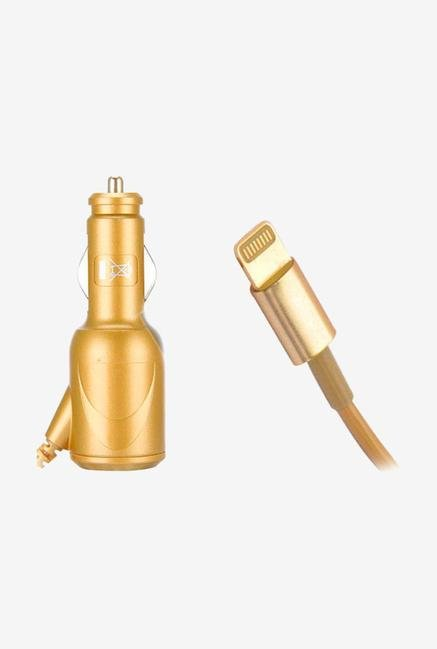 Callmate 1A CCIPH5GL Car Charger Gold for iPhone 5