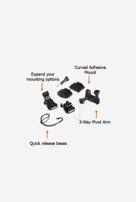 GoPro AGBAG001 Replacement Parts Black