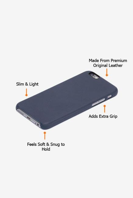 Callmate Leather Touch Back Case for iPhone 6 Plus Dark Blue