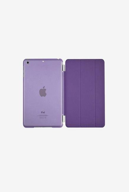 Callmate Magnetic Smart Flip Cover for Ipad Air Purple