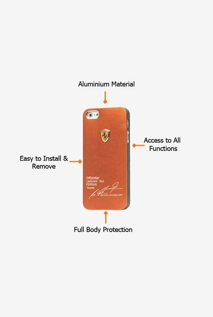 Callmate Ferrari Case Brown for iPhone 5/5S