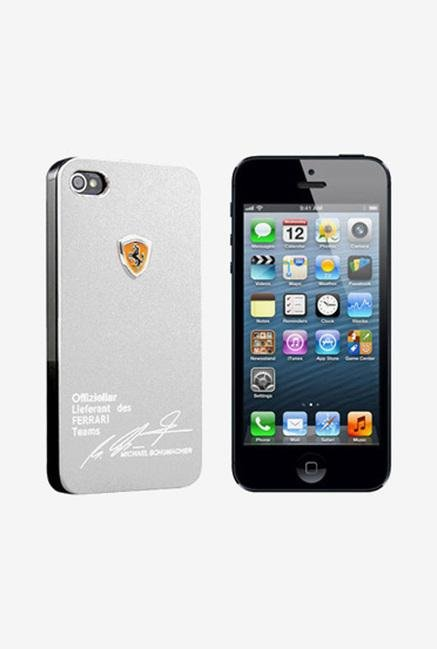 Callmate Ferrari Back Case for iPhone 5/5S Silver
