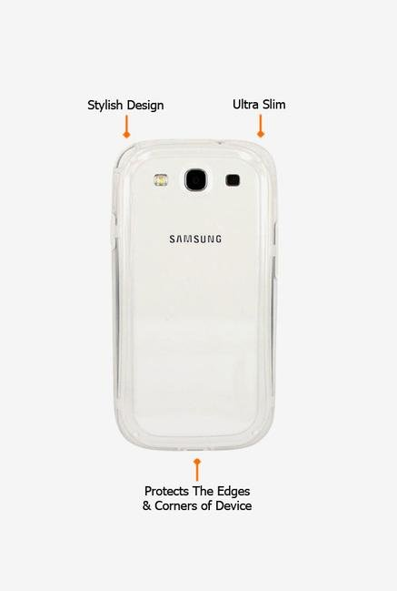 Callmate Bumper Case White for Samsung S3 Mini