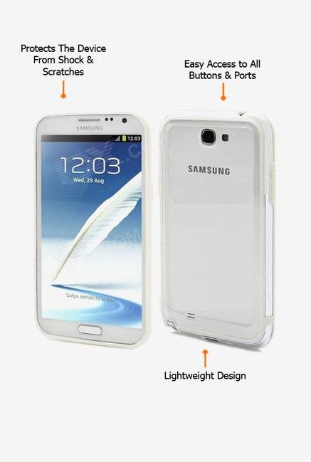 Callmate Bumper Case Transparent for Samsung Note 2