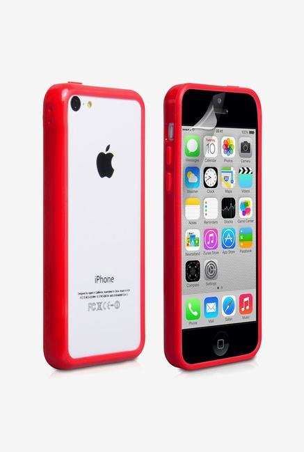 Callmate Bumper Case Red for iPhone 5C