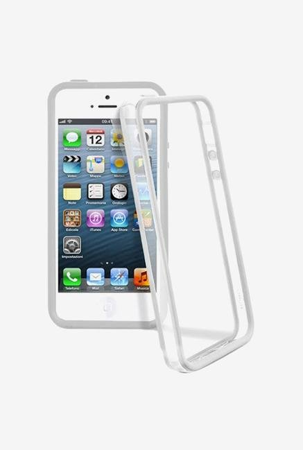 Callmate Bumper Case White for iPhone 5