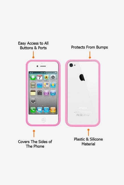 Callmate Bumper Case Pink for iPhone 4/4S