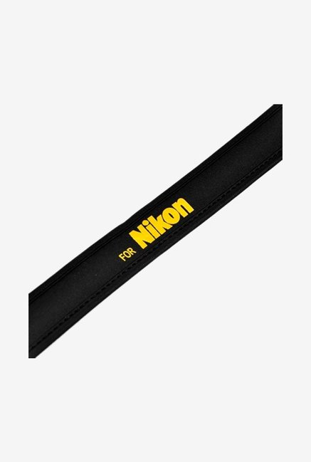 Cowboy Studio Neoprene Neck Strap For Nikon Camera Black