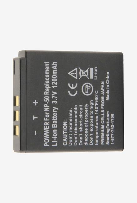 Sterlingtek 1200Mah Battery For Fuji Np-50 - Black