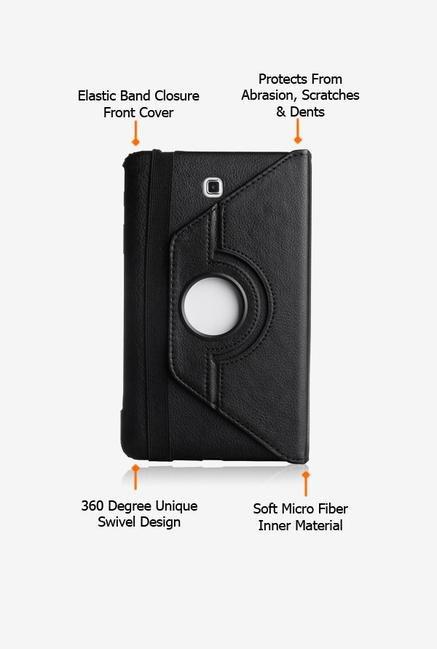 Callmate Rotation Case Black for Samsung Galaxy Tab 3