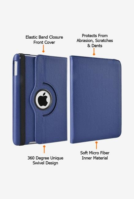 Callmate Rotation Case Dark Blue for iPad Mini