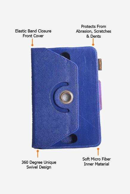 Callmate Rotation Cover Blue Universal for 7 inch Tablet