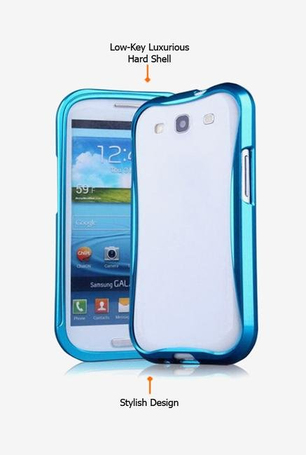 Callmate Bumper Cleave Case Sky Blue for Samsung S4 i9500