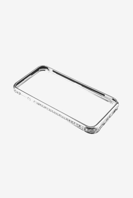 Callmate Bumper Diamond Case Silver for iPhone 5/5S