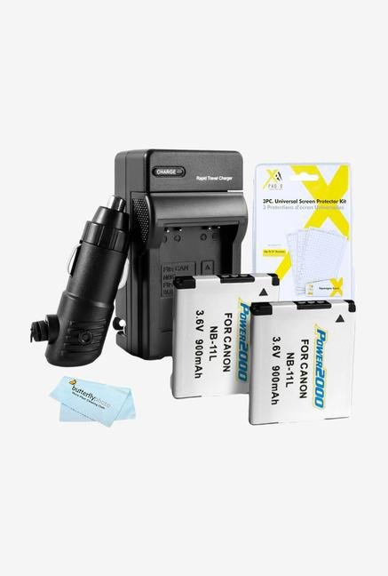 Butterflyphotos 2 Pack Battery And Charger Kit For Canon Powershot