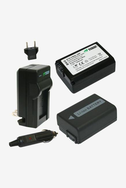 Wasabi Power Battery And Charger For Sony Np-Fw50 - 2 Pack