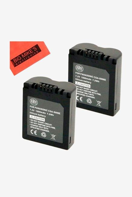 Big Mike S Cga-S006 Batteries For Panasonic Lumix - Pack Of 2