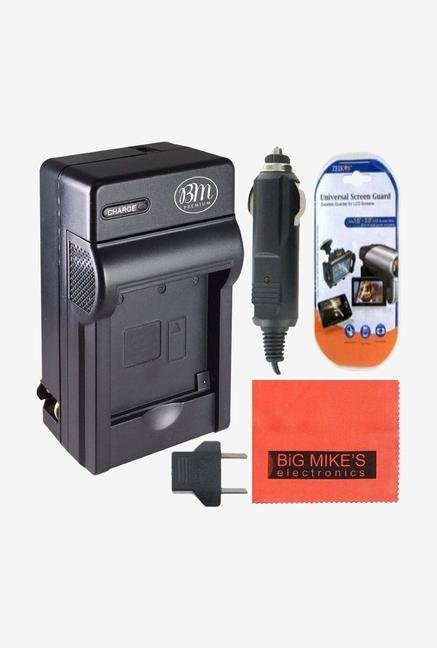 Big Mike Dmw-Blc12 Battery Charger For Panasonic Lumix Digital Camera