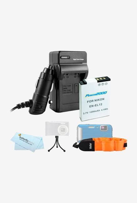 Battery And Charger Kit For Nikon Coolpix