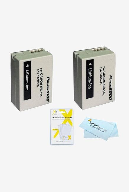 2 Pack Battery Kit For Canon Powershot