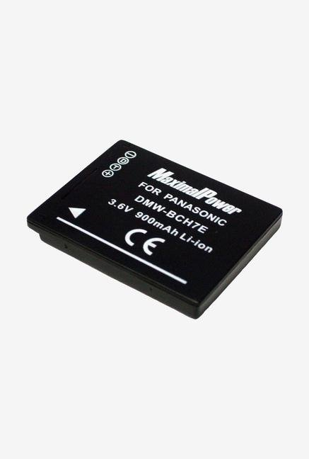 Maximal power Dmw-Bch7 Li-Ion Rechargeable Digital Camera Battery For Panasonic Lumix Dmc-Fp1 - Black