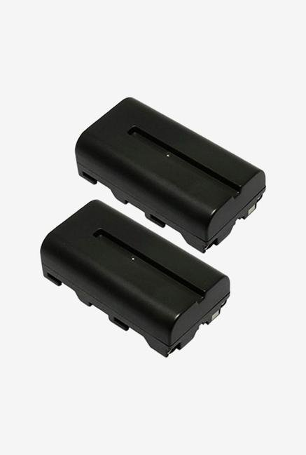 Maximal Power Db Db Son F550 X2 2Pcs Maximal power Replacement Battery Camera - Black