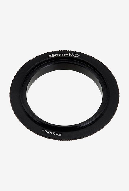 Fotodiox 10-Reverse-NEX-49 Camera Mount Black