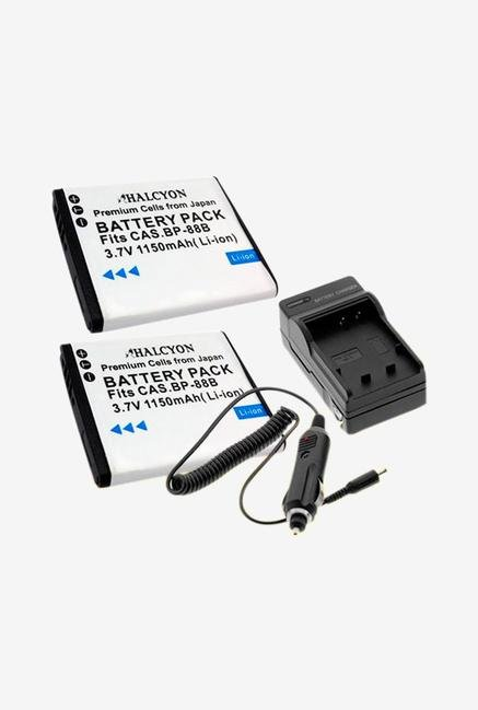 Halcyon Two 1150 Mah Lithium Ion Replacement Battery And Charger Kit For Samsung Mv900F