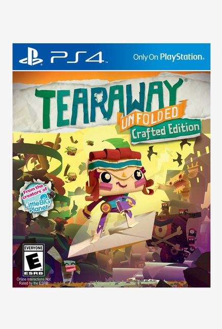 PS4 Tear Away Unfolded Crafted Edition