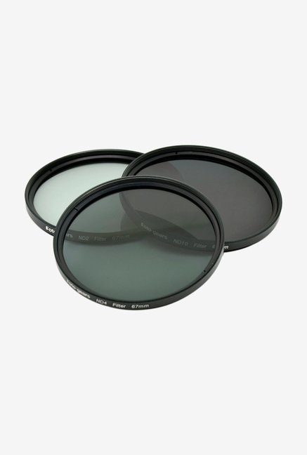 Mesenltd Foto-gears 67mm ND Filter kit Black