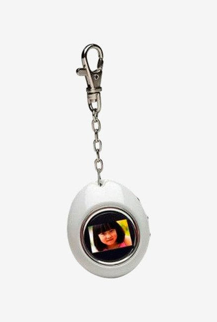Sakar 1.1 inch Keychain 12490 Digital Photo Frame Silver