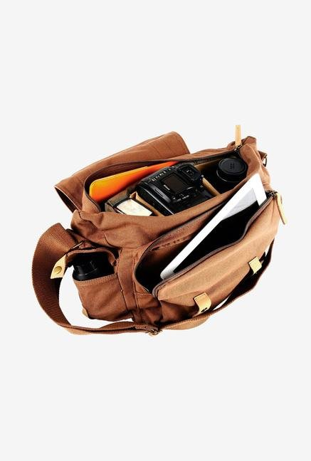 Caden DSLR/Mirrorless F1 Camera Bag Brown