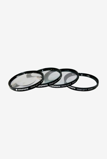 AGFA 52mm APCUF452 Filter Kit (4 Piece) Black