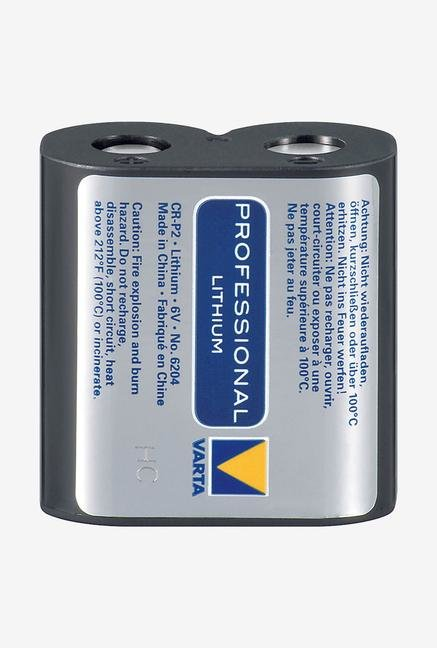 Varta Professional Lithium Cr-P2 6V Battery 6204