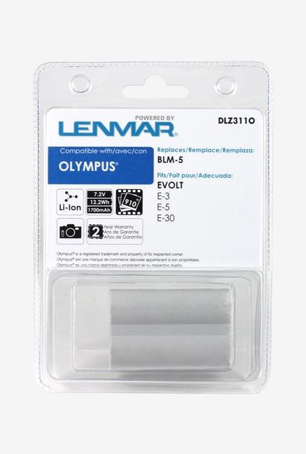 Replacement Battery For Olympus Blm-5 Works With Olympus Evolt E-3, E-5, E-30