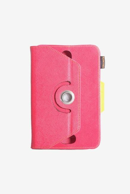 Callmate Rotation Cover Deep Pink Universal for 7in Tablet